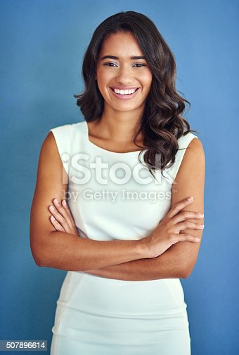 507896586istockphoto She exudes corporate confidence 507896614