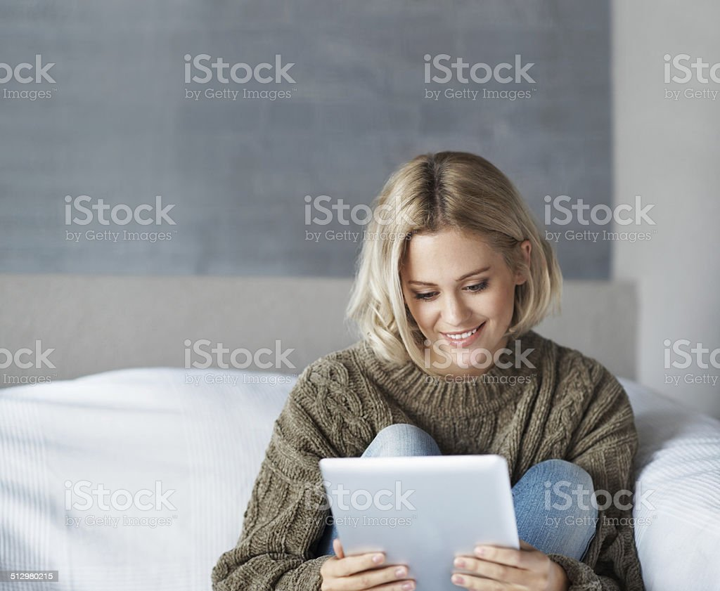 She finally made it to the next round! stock photo