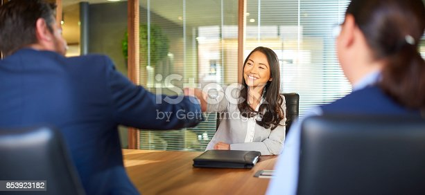 istock she got the job 853923182