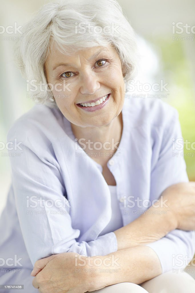 She grows more beautiful everyday stock photo