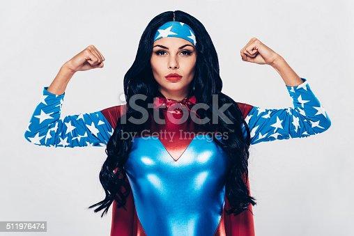 istock She has plenty of strength. 511976474