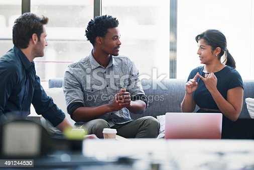 491244494 istock photo She has some important points to make 491244530