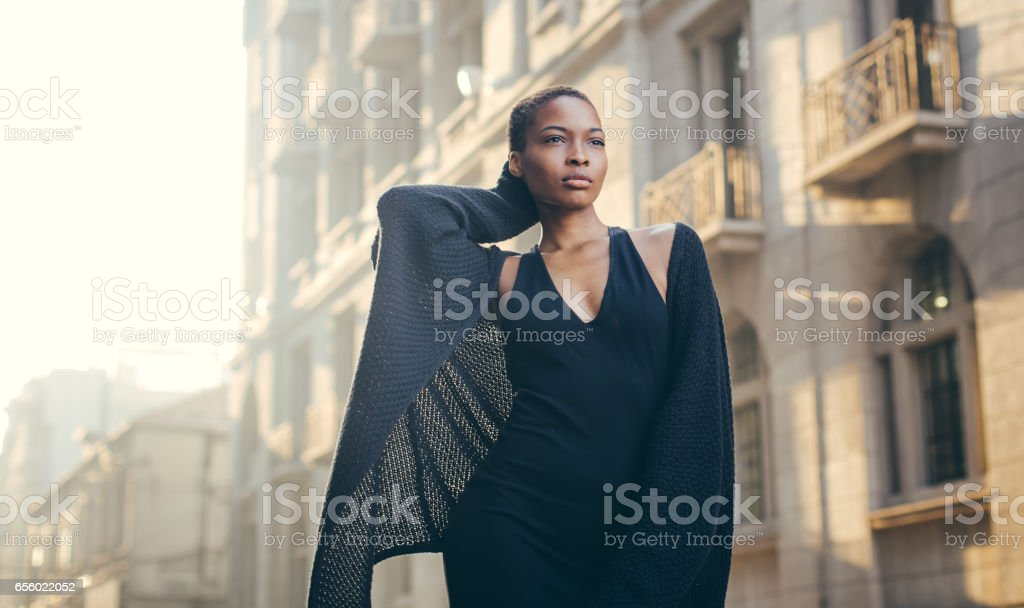 She is a beauty stock photo