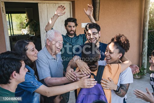 1196170672istockphoto She is finally at home! 1204468093
