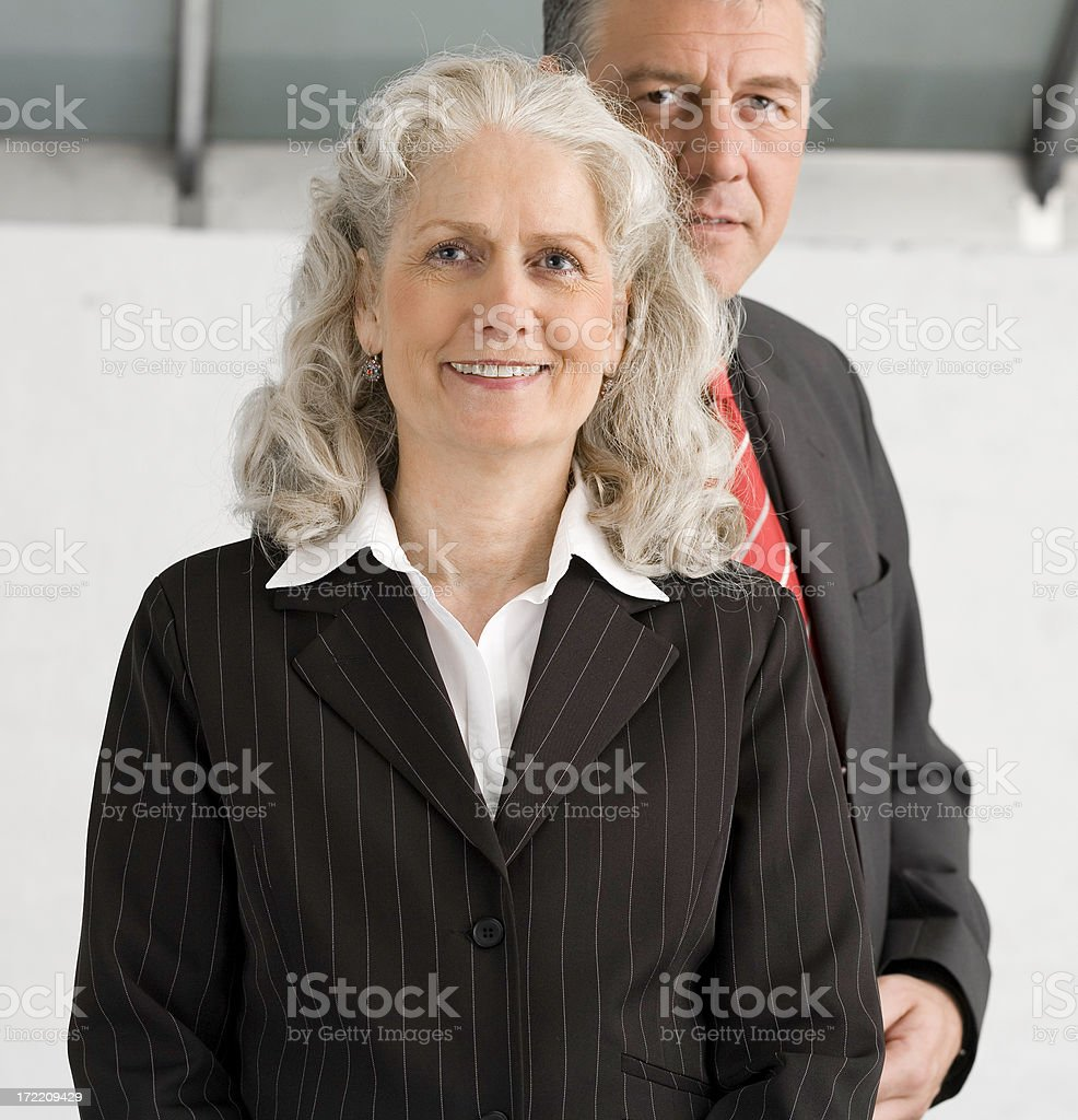 she is in charge royalty-free stock photo