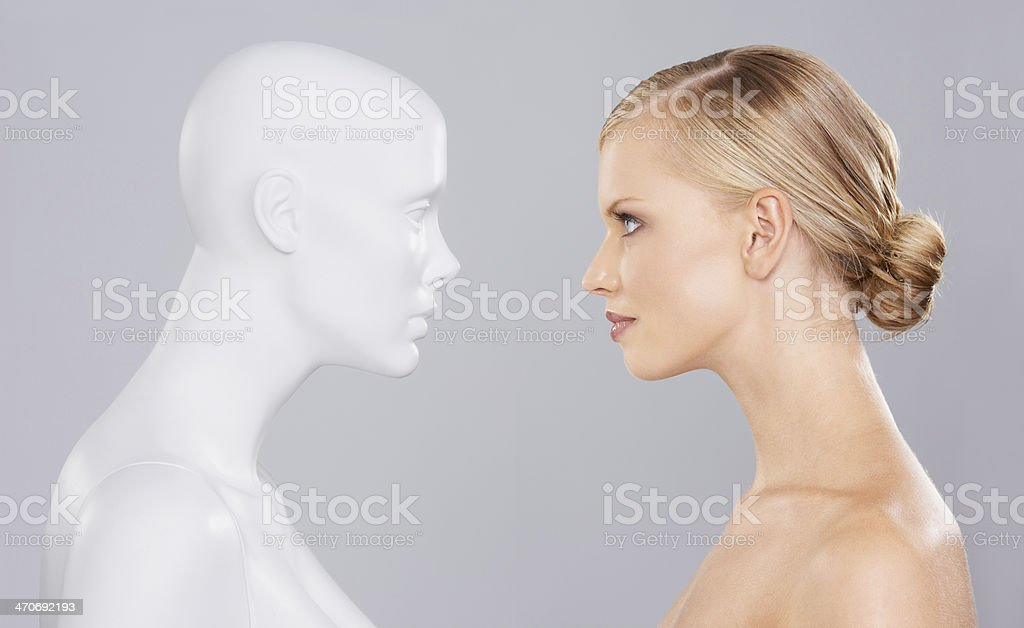 She is not a fake stock photo