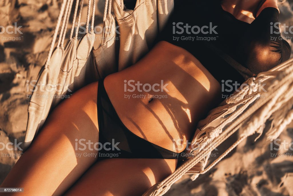 She is perfect. stock photo