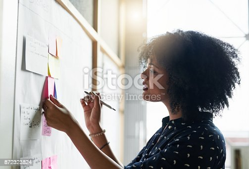 istock She likes to plan out her day 872323824