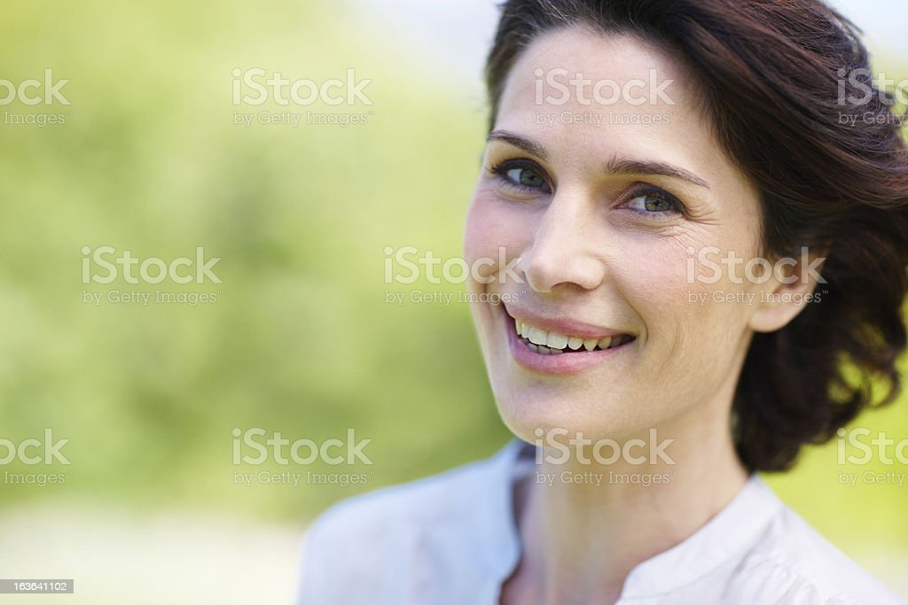She lives everday to it's fullest royalty-free stock photo