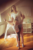 istock She love gymnastic. 1138807544