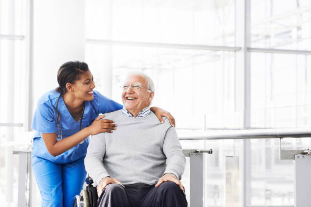 Sie liebt es, die Freude ihrer Patientin zu sehen – Foto