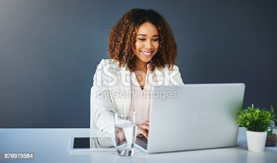 istock She loves the progress she is making 876975584