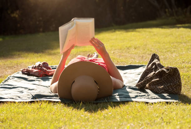 Sie liebt es zu lesen – Foto