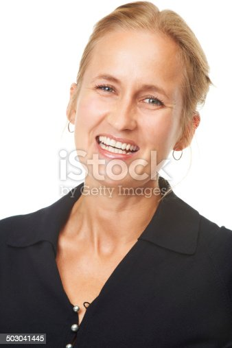 istock She makes everyone's day much brighter 503041445