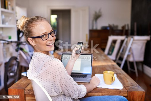 istock She makes multi-tasking look easy 507882533