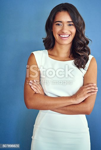 507896586istockphoto She means business 507896620