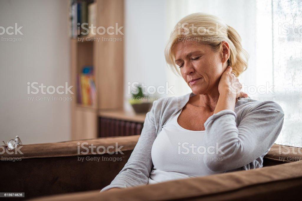 She needs a break stock photo