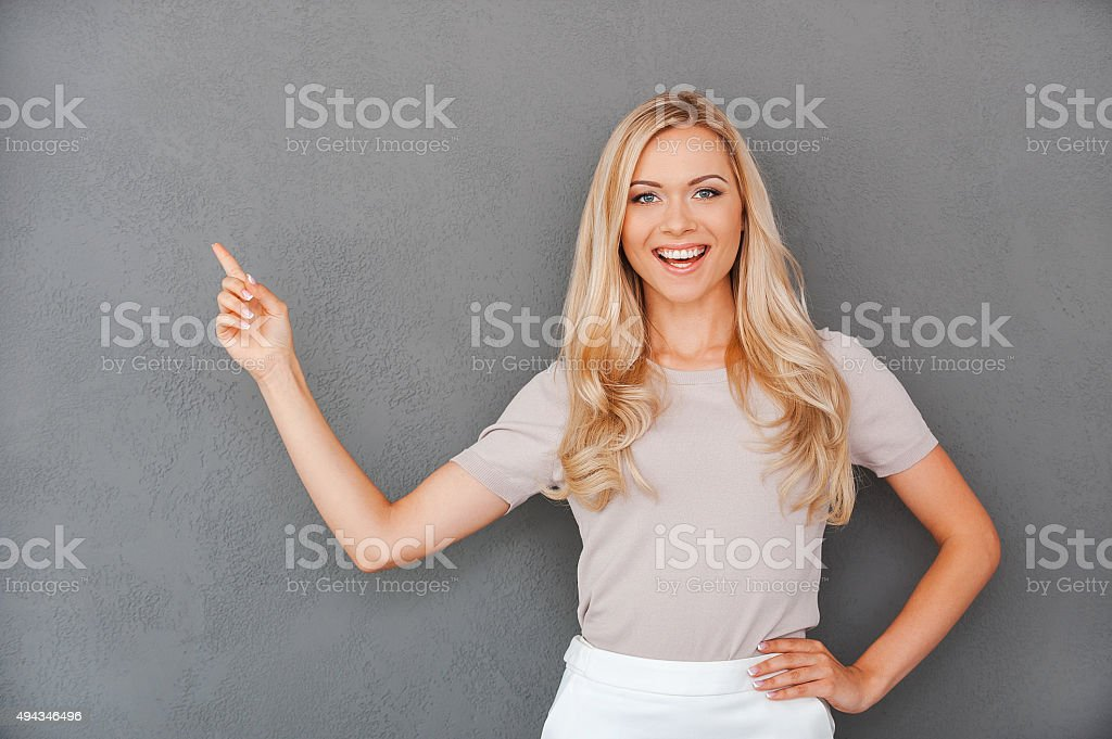 She never gives bad advices. stock photo
