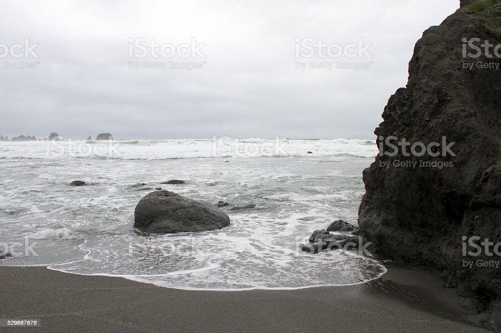 She Shi Beach stock photo