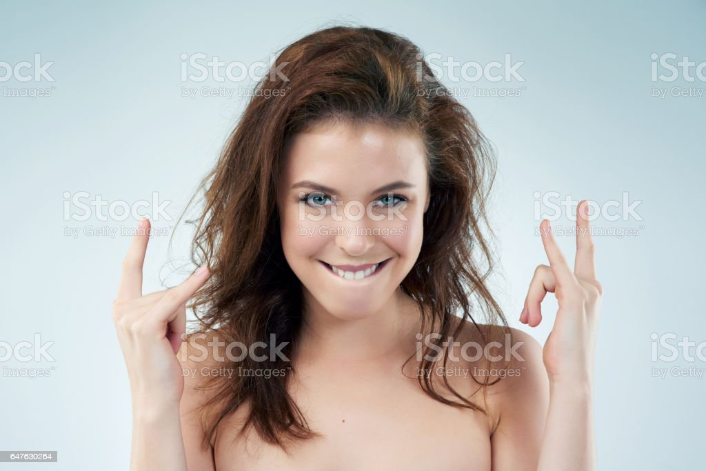She was cool way before hipsters were cool stock photo