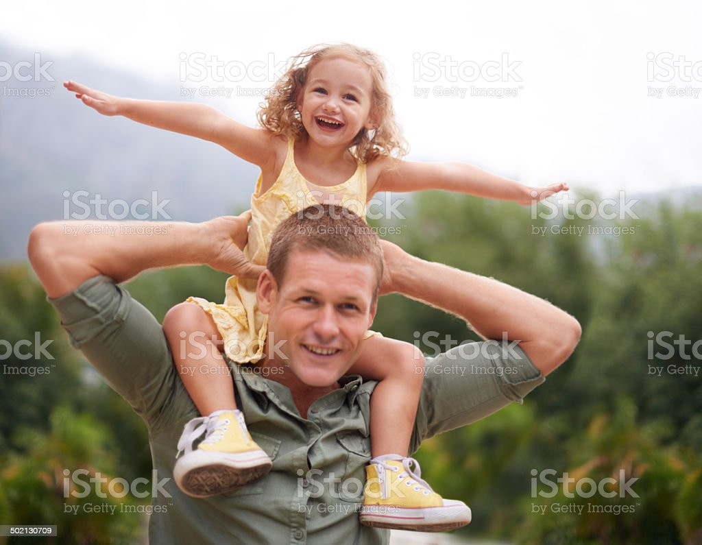 She will never outgrow my heart stock photo