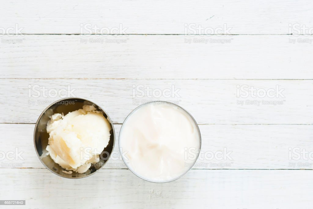 Shea butter and cosmetic cream - Photo