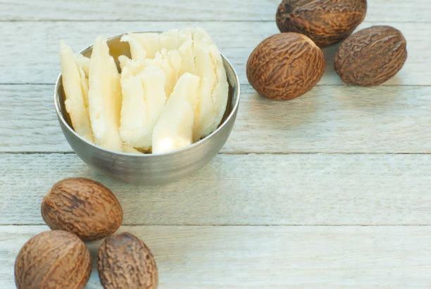 Shea-Butter und Nüssen – Foto