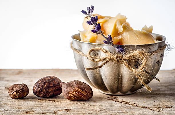 Shea-Butter und Nüsse – Foto