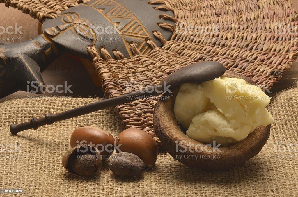 Le beurre de karité et des graines de karitè - Photo