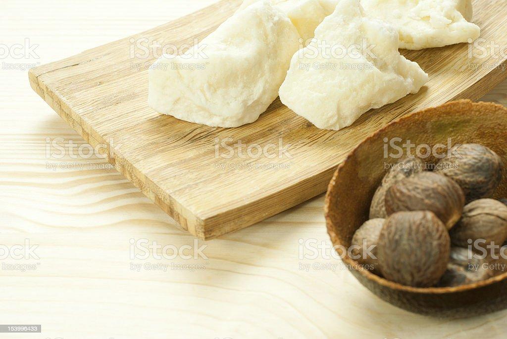 Le beurre de karité et noix - Photo