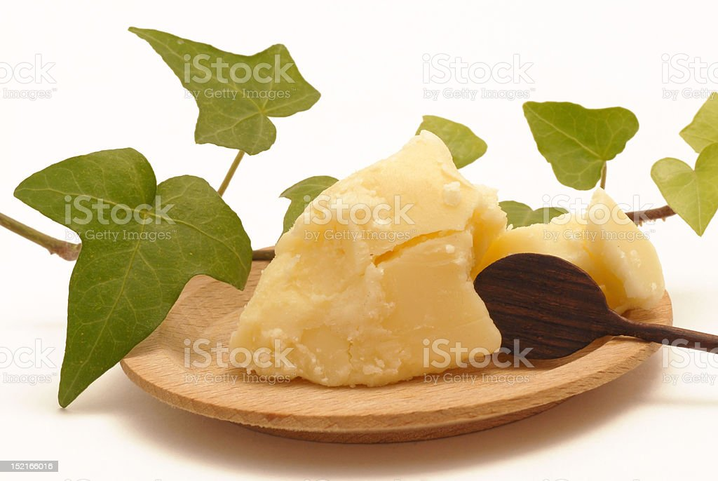 shea butter royalty-free stock photo