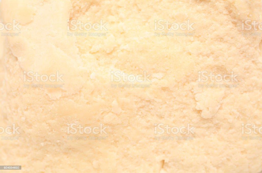 Texture de beurre de karité - Photo