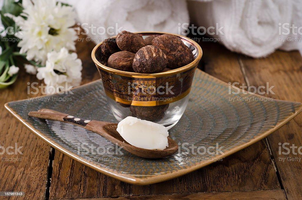 Beurre et noix de karité - Photo