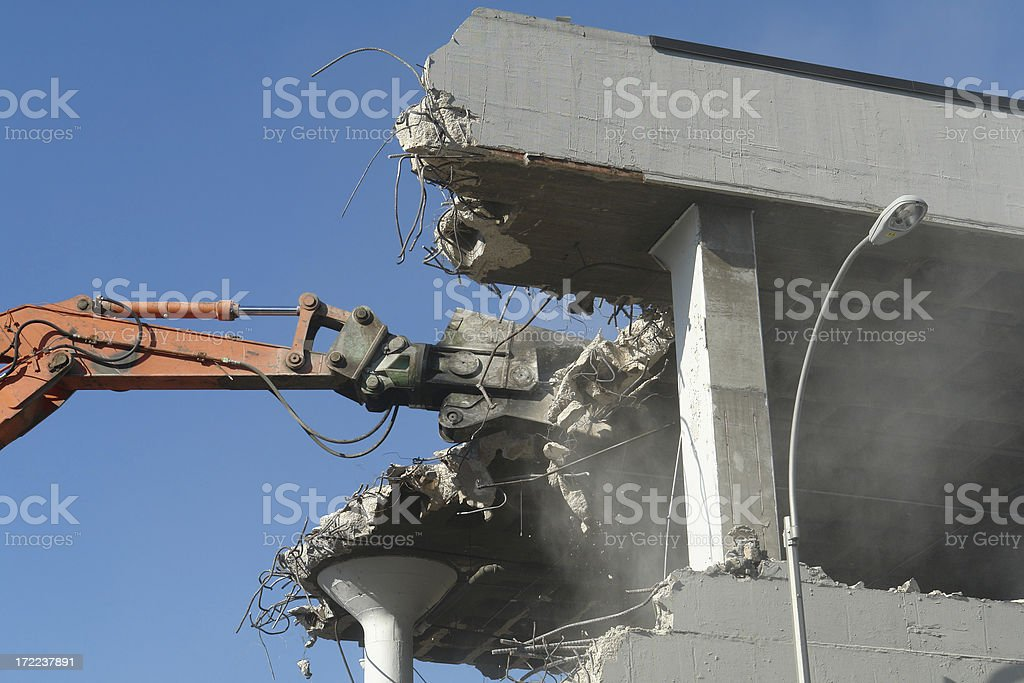 shear tractor claw grab stock photo