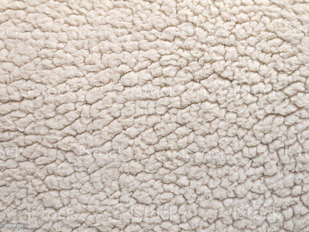 Shearling texture stock photo