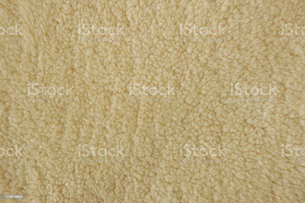Shearling Wool royalty-free stock photo