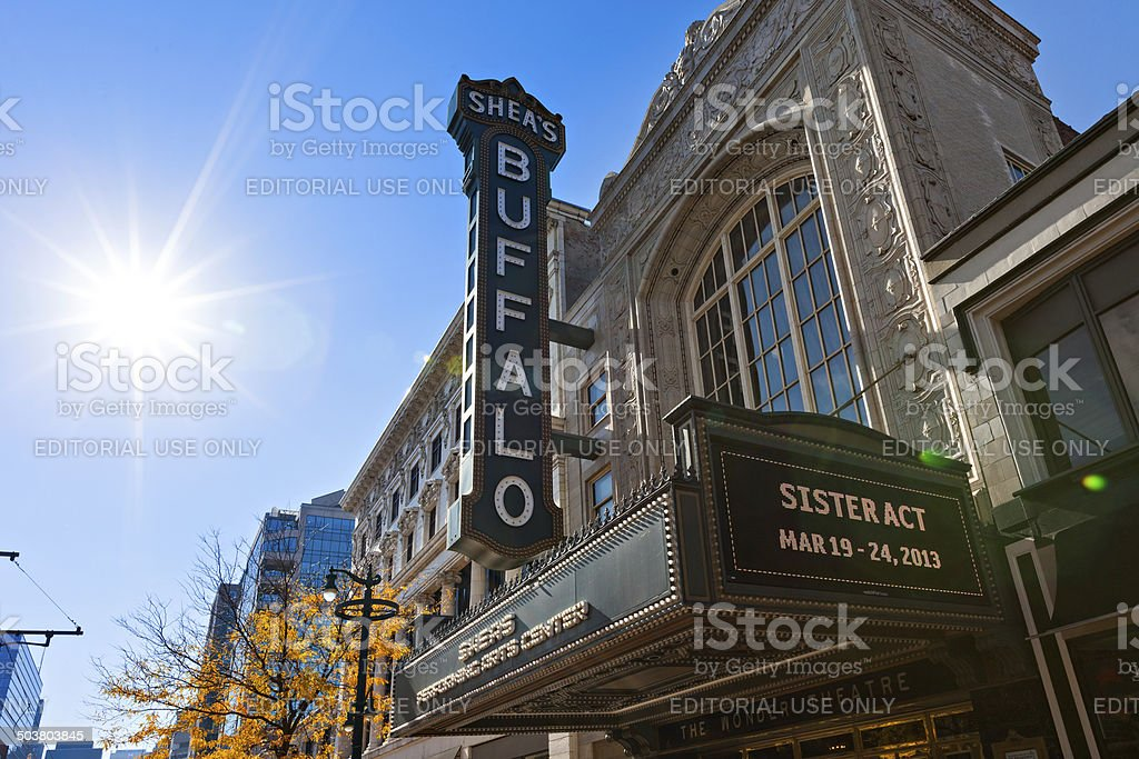 Shea's Performing Arts Center Buffalo stock photo