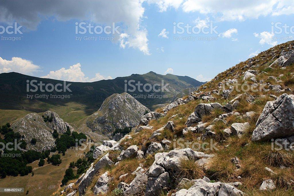 Shebenik-Jabllanice National Park, Albania stock photo