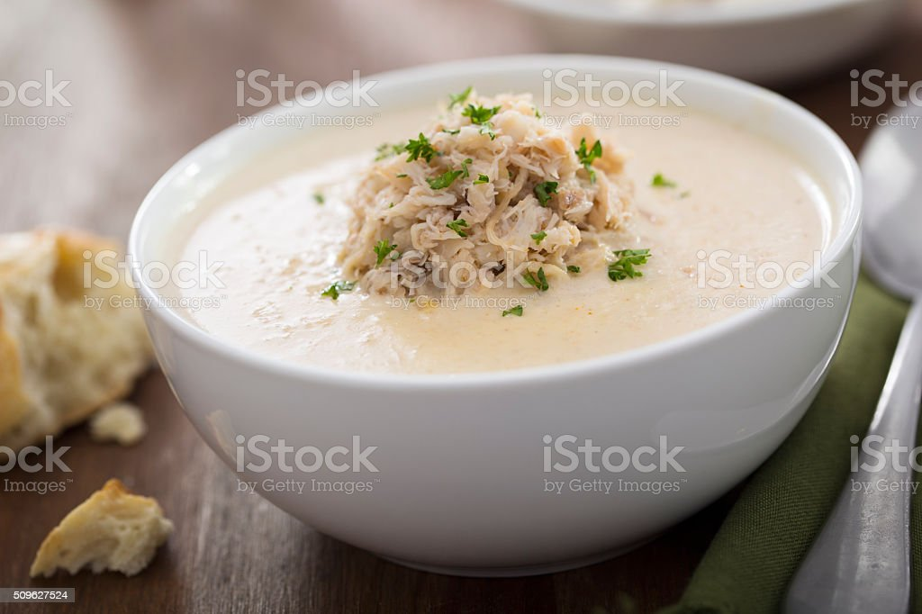 She-Crab Soup stock photo