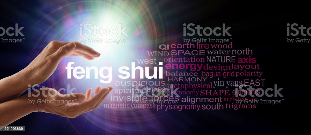 Shedding light on Feng Shui stock photo