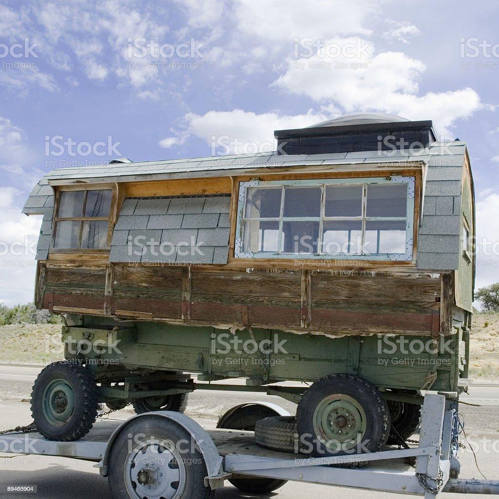 Schaf Camp Lizenzfreies stock-foto