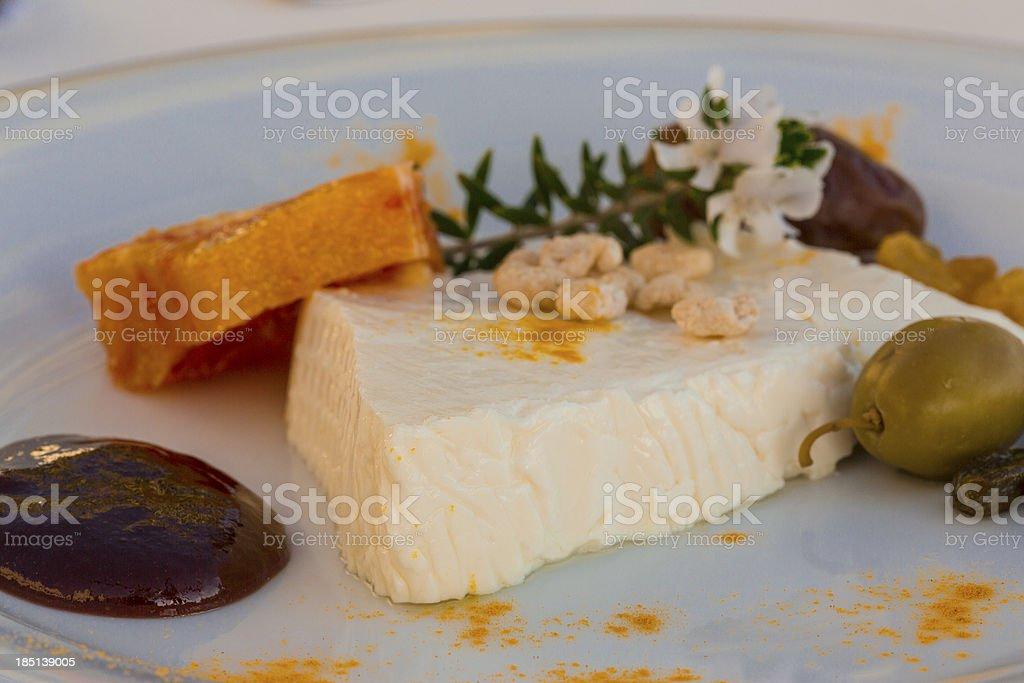 Sheep cheese royalty-free stock photo