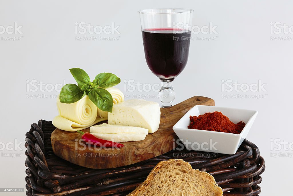 Sheep cheese stock photo