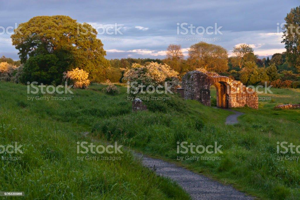 Sheep Gate, Trim stock photo