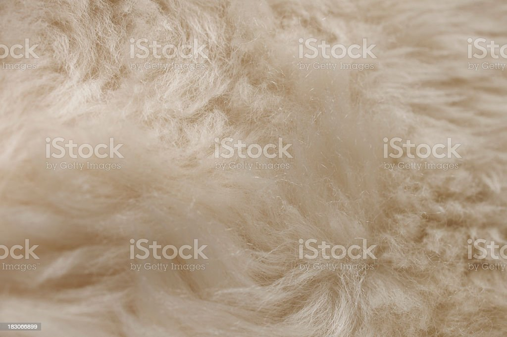 Sheepskin royalty-free stock photo