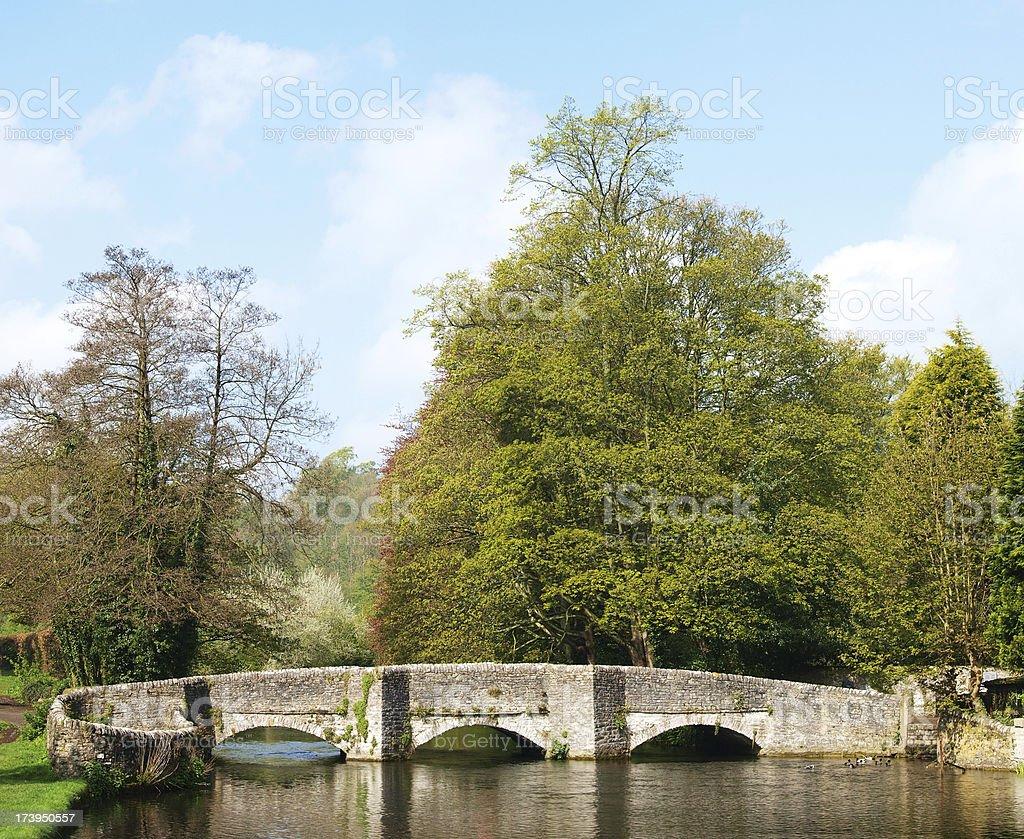 Sheepwash bridge stock photo