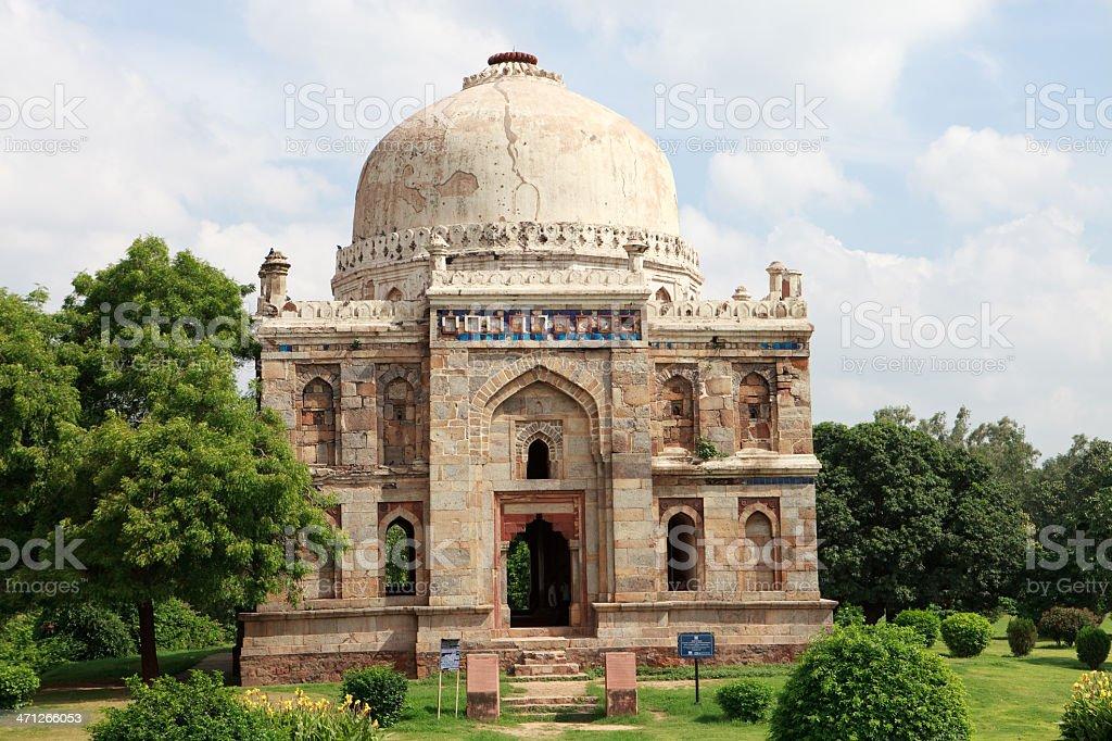 Sheesh Gumbad, Lodi Gardens, New Delhi royalty-free stock photo