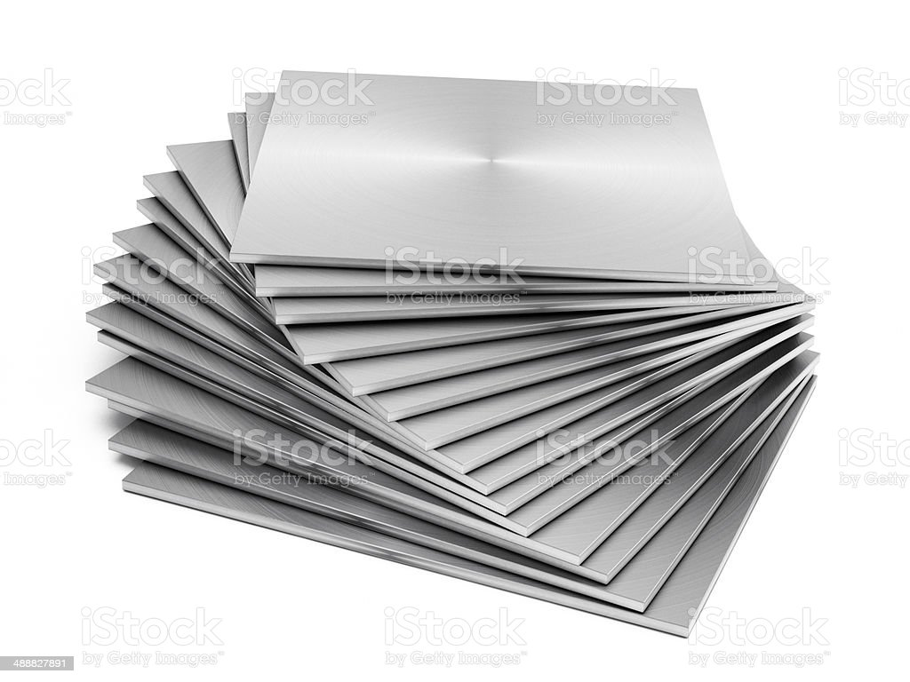 Sheet metal stock photo