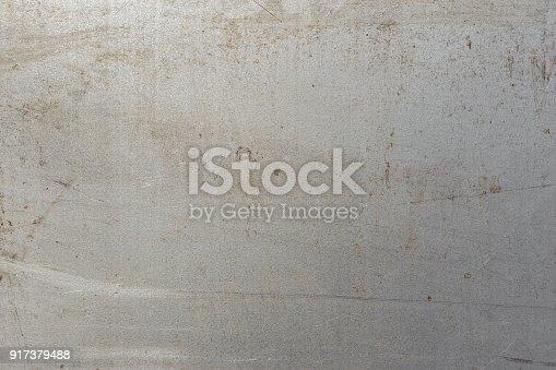 istock Sheet metal texture, metal gray 917379488