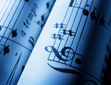 Sheet Music 10 Stock Photo - Download Image Now